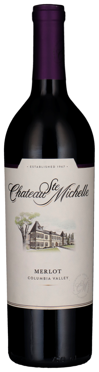 Chateau Ste. Michelle, Merlot - Columbia Valley, Washington State